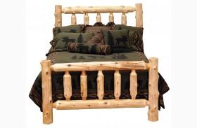 Cedar Youth Log Bed