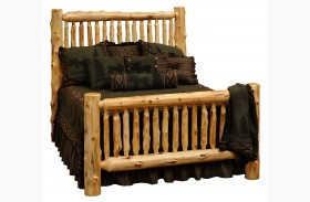 Cedar Youth Small Spindle Bed