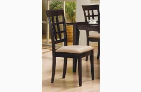 Mix & Match Cappuccino Chair Set of 2