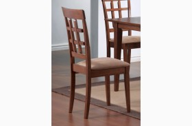 Mix & Match Walnut Chair Set of 2