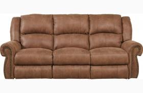 Westin Nutmeg Finish Reclining Sofa