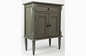 Avignon Grey Finish Nightstand