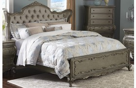 Florentina Gold Wing Panel Bed