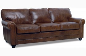 Andrew Italian Leather Sofa