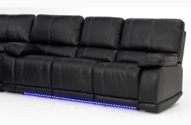 Electra Mesa Black Sofa