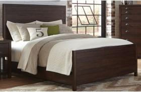 Lanchester Cocoa Finish Queen Panel Bed