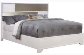 Havering Blanco And Sterling Platform Bed