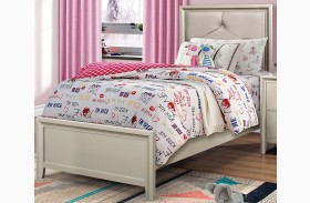 Lana Silver Youth Panel Bed