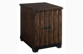 Whiskey Chairside Table