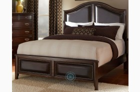 Beaux Upholstered Panel Bed