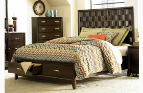 Darien Panel Storage Bed