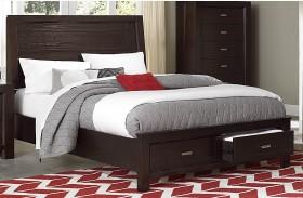 Breese Platform Storage Bed