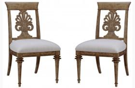 Pavilion Wood Back Side Chair Set of 2