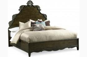 Continental Vintage Melange Panel Bed