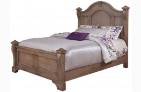 Heirloom Pewter Poster Bed