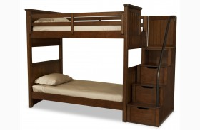 Dawsons Ridge Youth Bunk Bed with Storage Steps