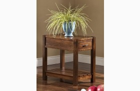 Giverny African Honey Chair Side Table