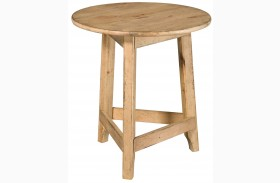 Homecoming Vintage Pine Accent Table