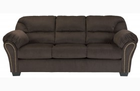 Kinlock Chocolate Finish Sofa