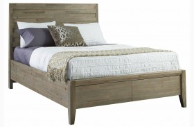 Harbourside Horizontal Slat Panel Bed