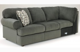 Jessa Place Pewter LAF Sofa