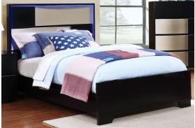 Havering Black and Sterling Youth Platform Bed