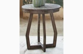 Hayden Way Gray Wash Finish Chairside Table
