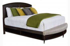 Vibe Merlot Radius Bench Panel Storage Bed