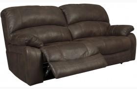 Zavier Truffle Finish 2 Seat Reclining Sofa