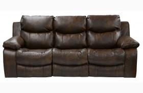 Catalina Timber Reclining Sofa