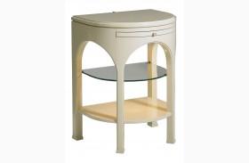 Crestaire Capiz Telephone Table