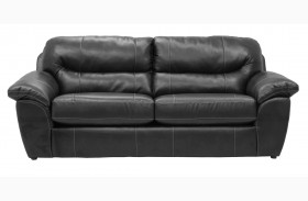Brantley Steel Finish Sofa
