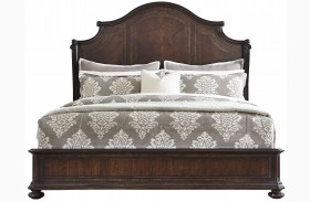 Casa D'Onore Sella Wood Panel Bed