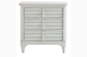 Coastal Living Parchment Cypress Grove Nightstand