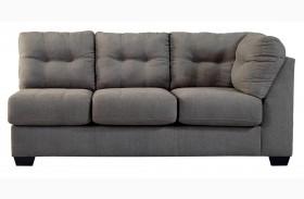 Maier Charcoal Right Arm Facing Sofa