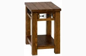 San Marcos Rectangular Chairside Table