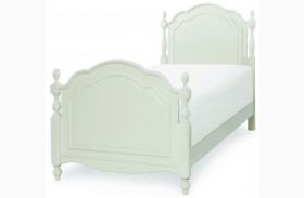 Harmony Antique Linen White Youth Summerset Low Post Bed