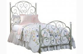 Spring Rose Youth Metal Bed
