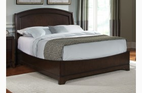 Avalon Dark Truffle Platform Bed