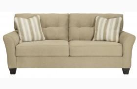Laryn Khaki Finish Sofa