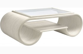 Coastal Living Oasis Oyster Finish Legacy Park Cocktail Table