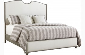 Coastal Living Oasis Grey Birch Finish Solstice Canyon Shelter Bed