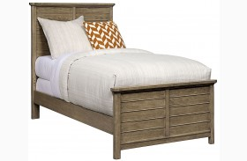 Driftwood Park Sunflower Seed Youth Panel Bed