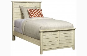 Driftwood Park Vanilla Oak Youth Panel Bed