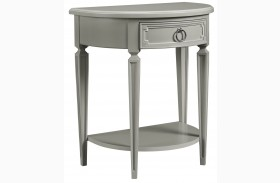 Clementine Court Spoon Finish Bedside Table