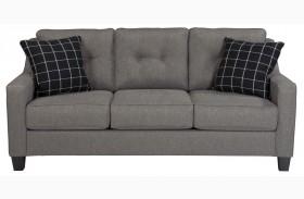 Brindon Charcoal Finish Sofa