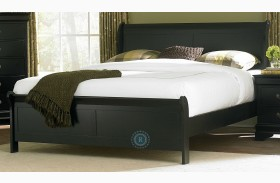 Marianne Black Youth Sleigh Bed