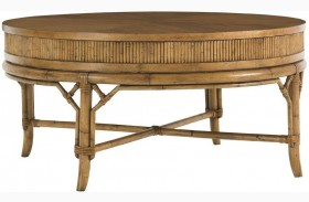 Beach House Oyster Round Cocktail Table