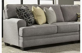 Cresson Pewter Finish LAF Loveseat