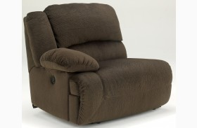 Toletta Chocolate LAF Recliner